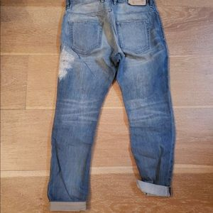 Diesel womens light wash jeans size 25 , 32 Inseam